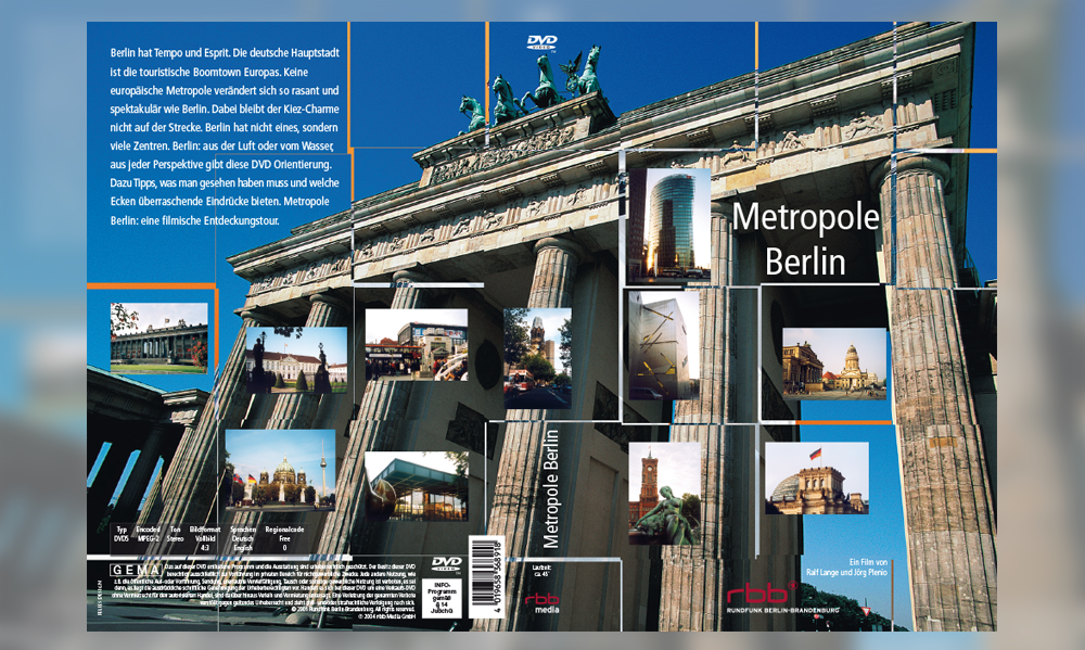Metropole Berlin DVD-Cover