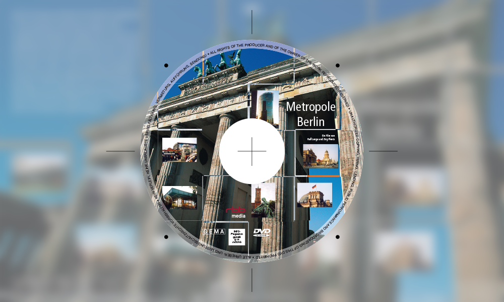 Metropole Berlin DVD-Label